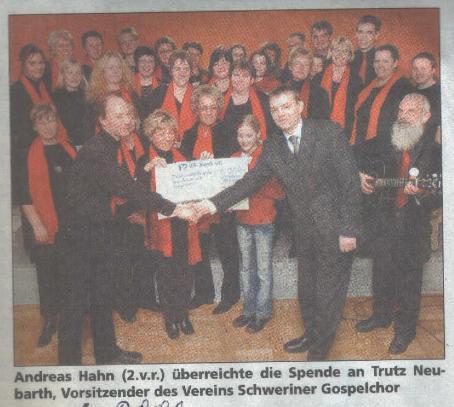 Presse 2006 for Schweriner blitz